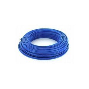 Fil H07VU 6mm² Bleu en 100m