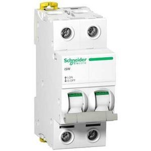 Schneider - Interrupteur sectionneur 2 pôles - 63A - A9S65263