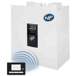 VMC double flux Ideo 325 Ecowatt radio
