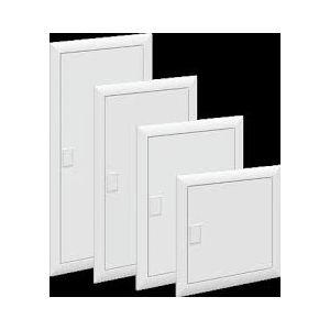 Porte coffret encastré UK600 1 rangée blanc
