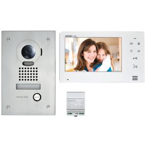 "Kit interphone vidéo JO - Ecran 7"" - Encastrée"