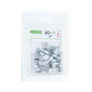 Boîte de 40 bornes Wago 2 entrées - Série 2273
