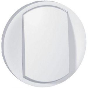 Enjoliveur interrupteur doigt large - Blanc