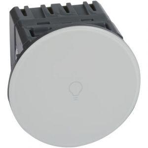 Interrupteur ou va-et-vient Céliane Surface tactile avec neutre 1000 W - blanc