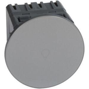 Interrupteur ou va-et-vient Céliane Surface tactile avec neutre 1000 W - titane