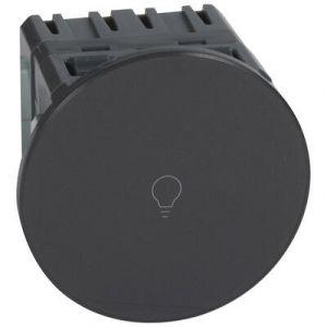 Interrupteur ou va-et-vient Céliane Surface tactile avec neutre 1000 W - graphite