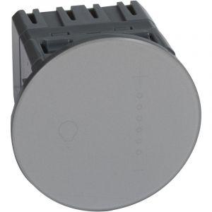 Variateur tactile avec neutre 300 W Céliane - titane