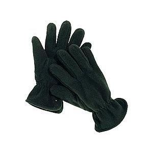Gants en laine polaire noir
