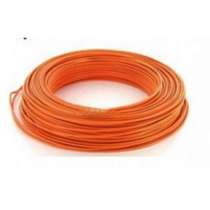 Fil H07VU 1.5mm² Orange en 100m