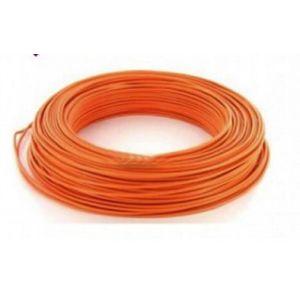 Fil H07VU 2.5mm²  Orange en 100m