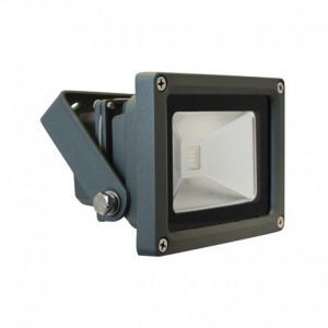 Projecteur extérieur LED 10W RGB - Gris