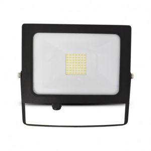 Projecteur Exterieur LED Plat Noir 50W 4000°K sans câble
