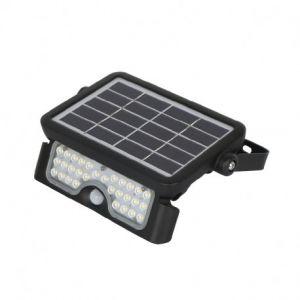 Projecteur Exterieur LED Solaire Noir 5W 4000K IP65
