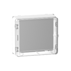 Habillage + porte transparente panneau de contrôle 13 modules