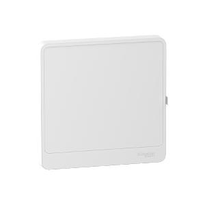 Porte blanche Resi9 1 rangée 13 modules