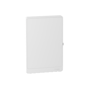 Porte blanche Resi9 3 rangées 13 modules