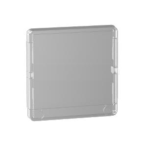 Porte transparente Resi9 1 rangée 13 modules