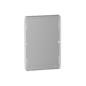 Porte transparente Resi9 2 rangées 13 modules