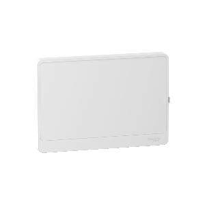 Porte blanche Resi9 1 rangée 18 modules