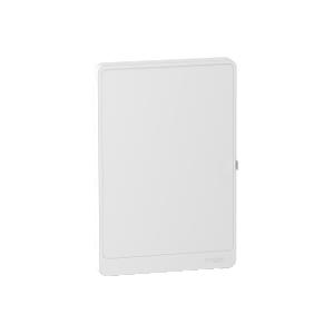 Porte blanche Resi9 2 rangées 18 modules