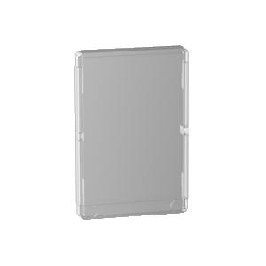 Porte transparente Resi9 4 rangées 18 modules