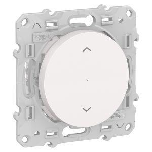 Interrupteur Volets-roulants connecté Odace Wiser Bluetooth - blanc