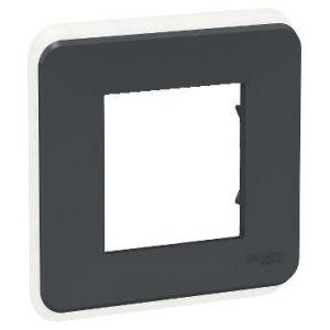 Unica Pro - plaque de finition - Anthracite - 1 poste