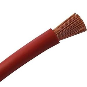 Cable souple H07VK 10 Rouge au mètre