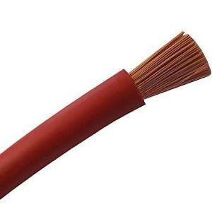 Cable souple H07VK 6 Rouge 100M