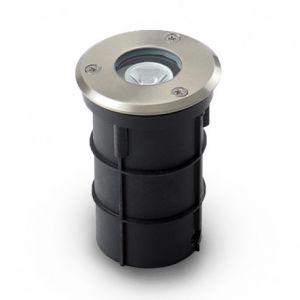 Spot encastrable LED Ø62mm 1W Rond Bleu IP67