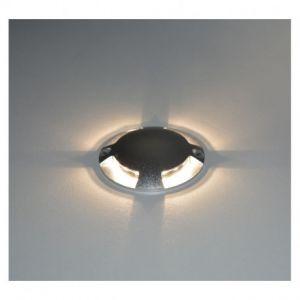 Spot LED Balise Rond 4 diffuseurs 1W 4000°K - Vision-EL - 70780