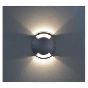 Spot LED Balise Rond 2 diffuseurs 1W 4000°K - Vision-EL - 70782