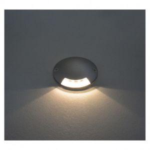 Spot LED Balise Rond 1 diffuseur 1W 4000°K - Vision-EL - 70783