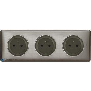 Triple prise Surface Céliane graphite - Plaque Tungstène