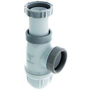 Siphon CONNECTIC avec joints intégrés pour tout type d'évier