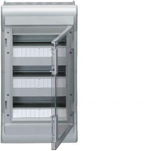 Coffret étanche Vector 3 rangées 12 modules