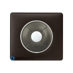 Poussoir pour volet roulant Céliane graphite - Plaque Basalte