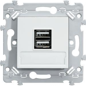 Double chargeur USB Essensya