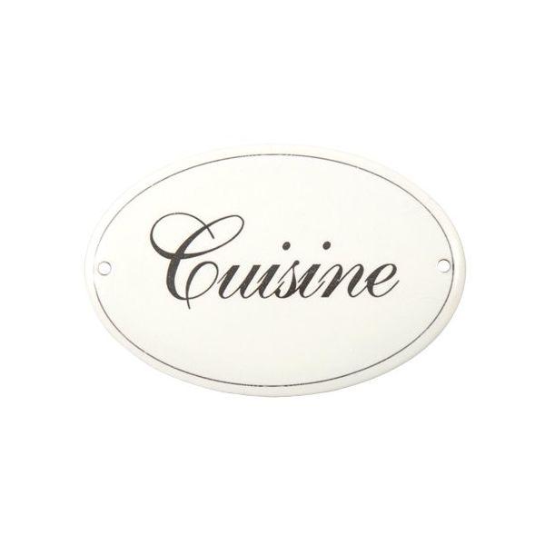 Plaque de porte Cuisine - ATHEZZA - 149990