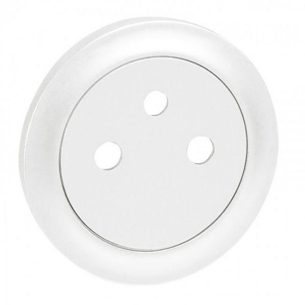 Enjoliveur prise 2P+T Surface - Blanc - 068111 - Legrand