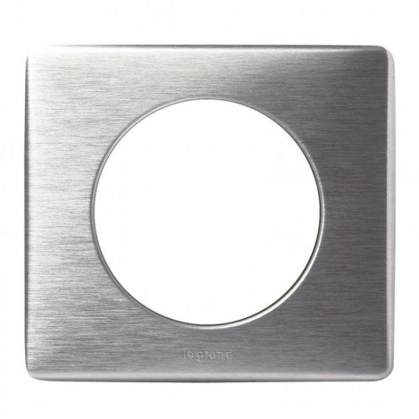 Plaque 1 poste Céliane Aluminium - 068921 - Legrand