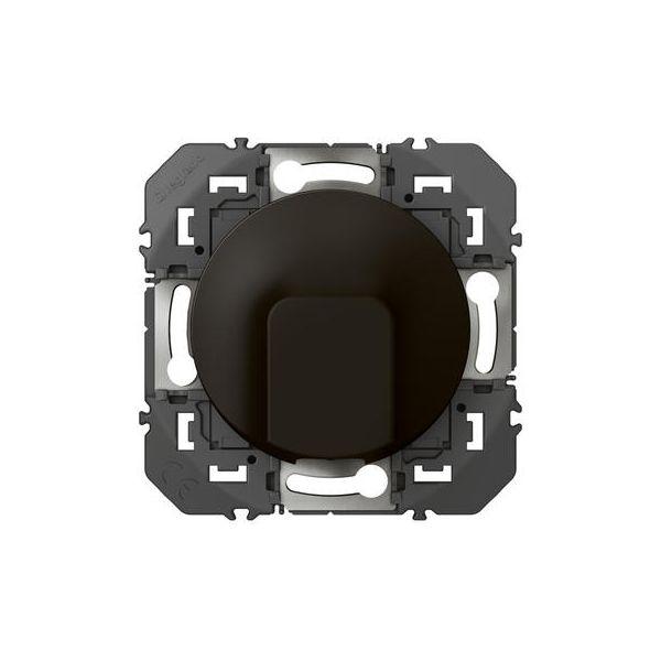 Sortie de câble standard dooxie finition Noir - 095281 - Legrand