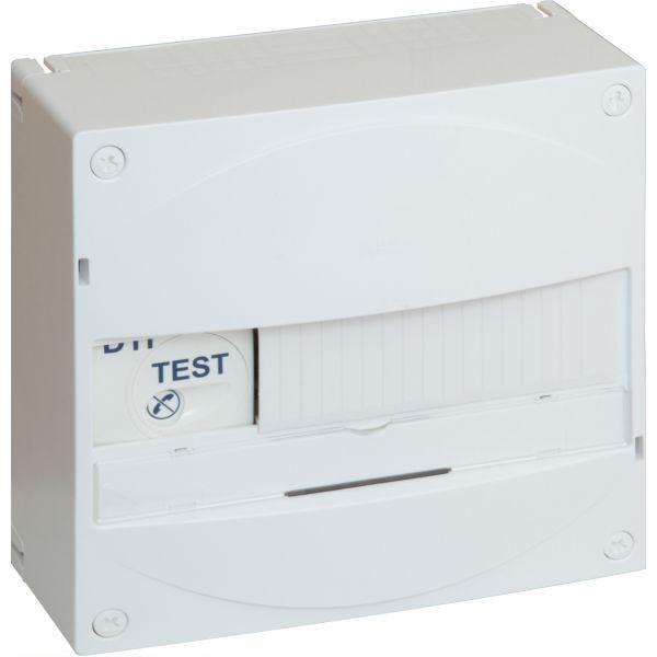 Coffret Gale'O VDI standards 4 RJ45 + TV ABB 215659