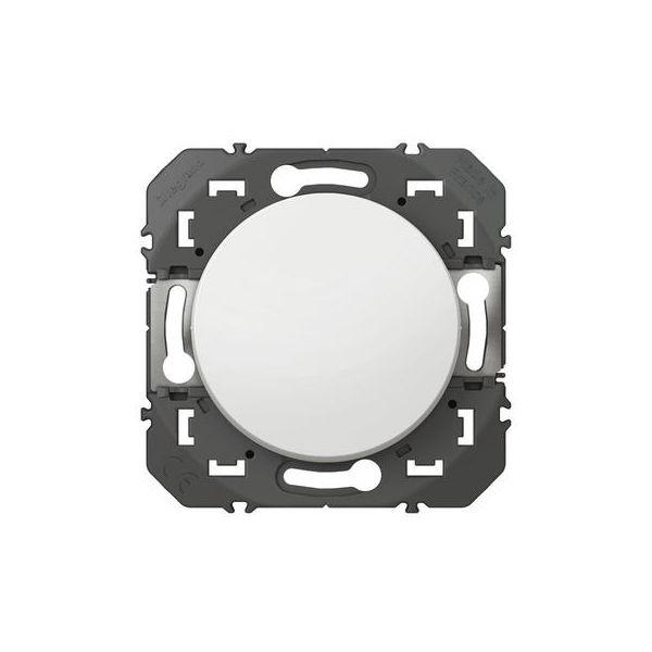 Poussoir simple dooxie 6A 250V~ finition blanc - 600004 - Legrand