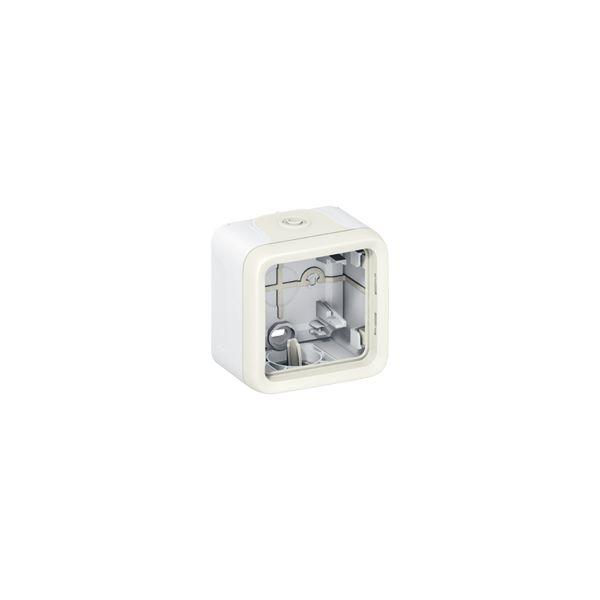 Boîtier Plexo 1 poste - Blanc - 069689 - Legrand