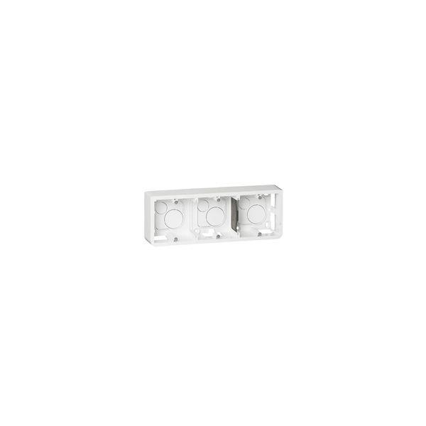 Cadre saillie 6, 8 ou 3x2 modules H. - 080286 - Legrand