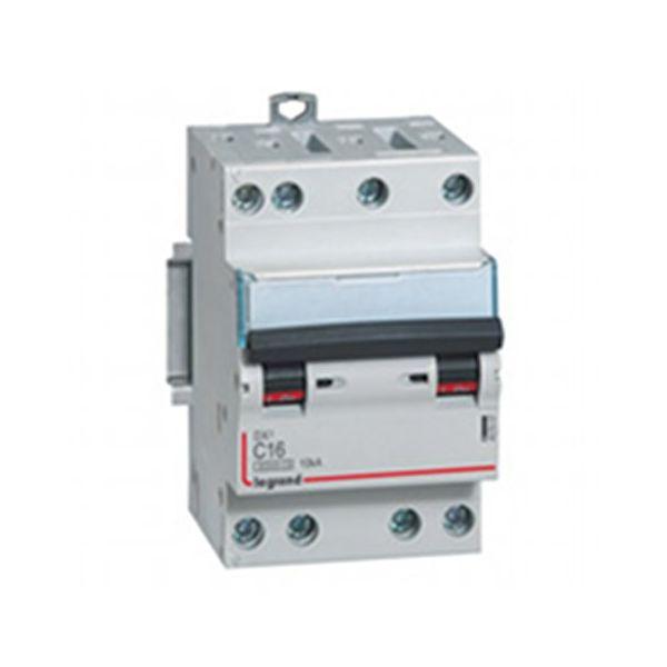 Disjoncteur tétrapolaire vis/vis - 16A 407907 Legrand