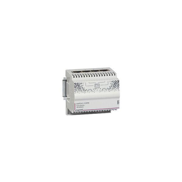 Switch 4 sorties RJ45 - 413010 - Legrand