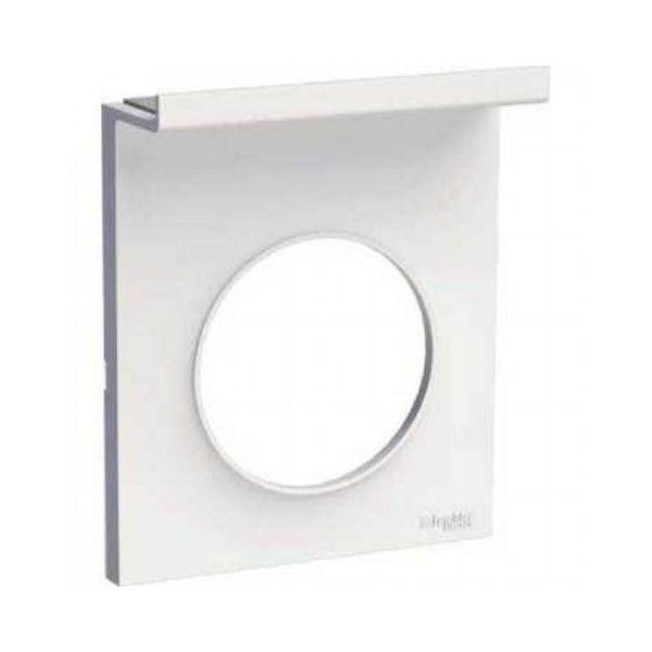 Plaque support téléphone mobile - Blanc - S520712 - Schneider