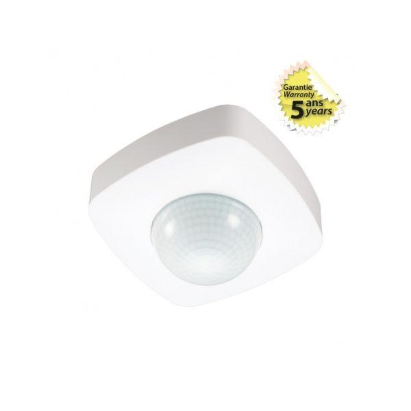 Détecteur de présence IR SAILLIE IP20 360° CARRE - Vision-EL - 75501